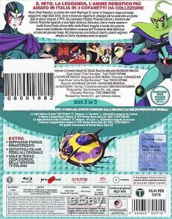 10 Blu Ray X 3 Boîte UFO Robot Goldorak de Go Nagai Collection Série Complet