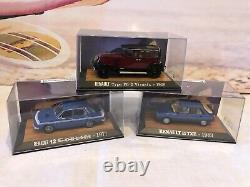 1/43 Collection Complete Neuve Renault Collection De 87 Modeles + Documentation