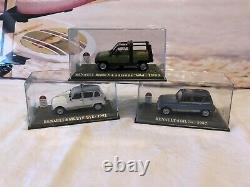 1/43 Collection Complete Neuve Renault Mythique R4 De 38 Modeles + Documentation