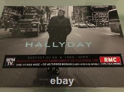 3 coffrets Johnny Hallyday de 1961 à 2005 collection complète