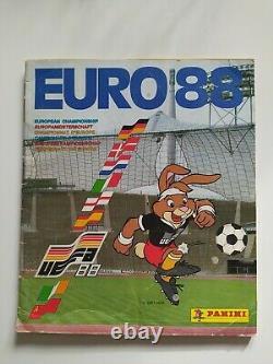 ALBUM PANINI COMPLET EURO 88 Championnat d'Europe des nations Collection