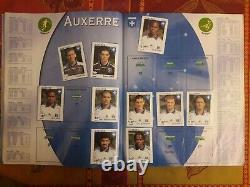 ALBUM PANINI FOOT 2000 (COMPLET 123) Championnat de France football 2000