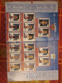 ALBUM PANINI FOOT 2001 COMPLET 73 Championnat de France football 2001 ss SCORE