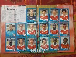 ALBUM PANINI FOOT 96 COMPLET en BON ÉTAT SS SCORE chpt de France FOOTBALL 1996