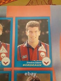 ALBUM PANINI FOOT 96 COMPLET en TB ÉTAT SS SCORE chpt de France FOOTBALL 1996