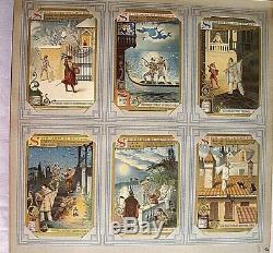 ALBUM de 294 CHROMOS LIEBIG Album complet Chromos non collés (n° 2)