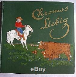 ALBUM de 300 CHROMOS LIEBIG Album complet Chromos non collés