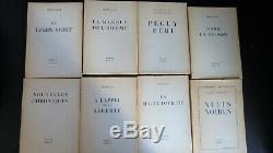 ARAGON VERCORS Collection Complète 20 Vol EDITIONS DE MINUIT 1e Edition publique