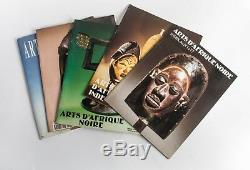 ARTS D'AFRIQUE NOIRE REVUE de RAOUL LEHUARD COLLECTION COMPLETE 132 NUMEROS