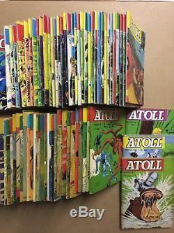 ATOLL Collection complète des 120 numéros parus 1967/81 BE