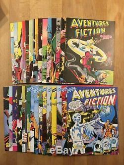 AVENTURES FICTION Collection complète des 29 numéros Neuf