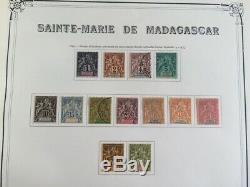 AVO! 1145 COLONIES collection timbres Sainte Marie de Madagascar complète