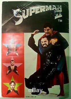 Album / Collecteur De Vignettes Superman 2 (age, 1980) Rare Et Complet! Be