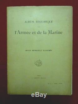 Album Historique De L'armée Et De La Marine 1905-1906 Complet 12 N° Uniformes