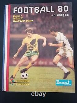 Album Panini Football 80 Complet Bon De Commande Présent Top État