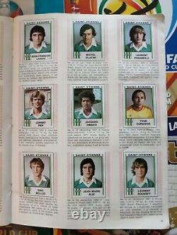 Album Panini Football 81 Complet Bon De Commande Présent Très Bon État