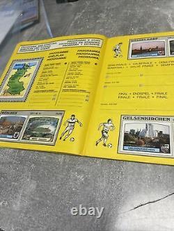 Album Panini Football Euro 1988 Bon Etat Complet + Bon De Commande