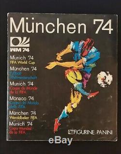 Album Panini MUNCHEN 74 / 100% des stickers complet / Très bon état /