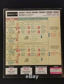 Album Panini MUNCHEN 74 / 100% des stickers complet / Très bon état