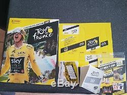 Album complet panini Tour de France avec toutes les cartes et images à coller