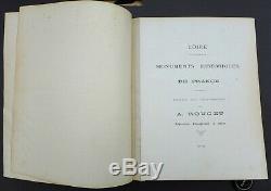 Album complet photo 1880 monuments historiques de la Loire par A. Rouget