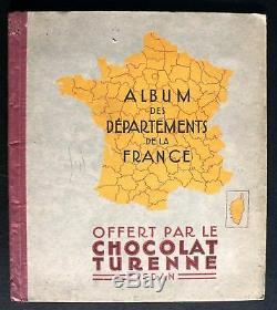 Album des départements. Chocolat Turenne Sedan. Complet