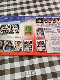 Album panini euro 84 complet dedicacee joueurs de l equipe de france