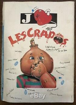 Album rare et complet 99% La Bande Des Crados Album 1 (Manque 2 Stickers)