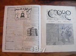 Alphonse Mucha originale La femme au coq Cocorico du n° 1 de 1898 complète