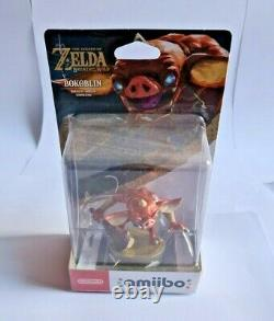 Amiibo Zelda Breath Of The Wild BOTW Collection Complete lot de 9 amiibo NEUF