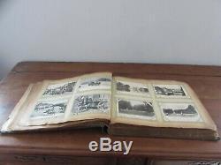 Ancien album de 516 cartes postales album complet