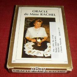 Ancien oracle de Madame Rachel complet en boite et livret (Mme Rachel)