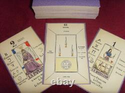 Ancien tarot de Papus COMPLET 78 CARTE