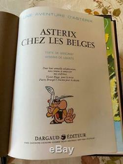 Astérix Le Gaulois Édition Reliée De Luxe Complete 7 Tomes Par Dargaud/rombaldi