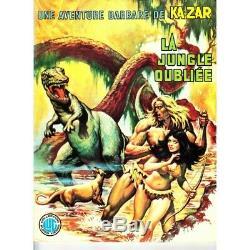 Aventure de Ka-zar (Une) (Lug) N° 1 à 3 Collection Complète