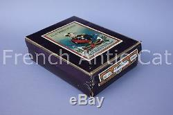 B772 Mercerie rare boite complete fil de lin AU GENERAL FEVRIER 50 à 150 Garance