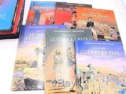 BD Collection Complète Tomes 1 à 30 Incontournables de la Littérature en BD