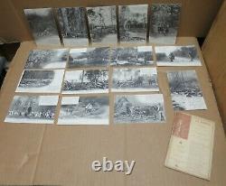 BOIS BUCHERONS LA FORET EN NIVERNAIS série complète de 60 cartes Ach MILLIEN