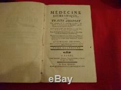 BUCHAN (Guillaume) Médecine domestique, ou traité complet des moyens de se