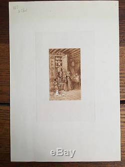 BUHOT (Félix). Suite complète des cinq eaux-fortes originales de Félix Buhot