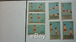 Banania / Serie Complete De 30 Images Culture Physique / 1920 1925