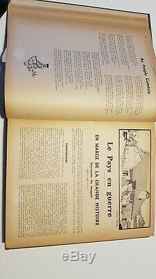 Barbizier Ensemble Complet des 17 Années De 1947 A 1963, Reliés En 4 Volumes