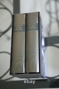 Baudelaire Oeuvres Complètes Bibliothèque de la Pléiade coffret 2 volumes