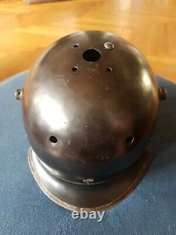 Beau casque à pointe original de chasseur à cheval allemand 1916 à compléter