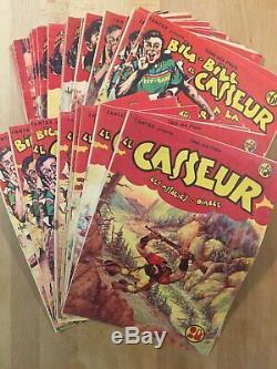Big-Bill le Casseur Chott Collection complète des 94 numéros parus 1947/54