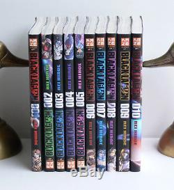 Black Lagoon série complète de 10 volumes édition Kazé Rei Hiroe