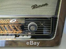 Blaupunkt Riviera, Type 2341, Poste de Radio à Tubes, Complet Restauré, Top État