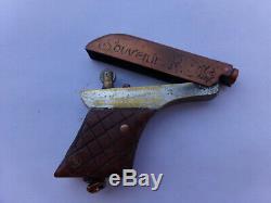 Briquet De Poilu Style Pistolet 14/18 Souvenirs Tours Complet État Correct