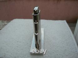 Briquet essence de table Déniel's Art Déco complet possède sa taxe ancien