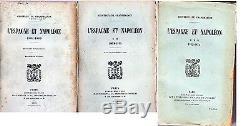 C1 NAPOLEON Grandmaison L ESPAGNE ET NAPOLEON 1804 1814 COMPLET des 3 Volumes